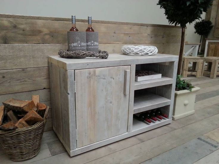 Wine rack - could maybe put a wine cooler inside the door