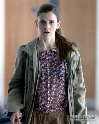 """Sherlock"" Louise Brealey as Molly Hooper"