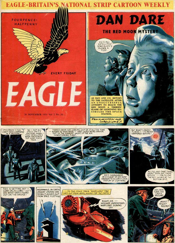 The brilliant Eagle comic