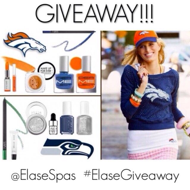 Who are you rooting for today? Show us your Game Day Glam and you'll be entered to win a FREE bottle of #LATISSE 3mL from Elase Spas! Simply post a photo of your best #SuperBowl look on Instagram and tag @ElaseSpas with #elasegiveaway - it's that easy! *Entries accepted today only, winner announced 2.3.14 #elasespas #utah #draper #sugarhouse #farmington #slc #saltlakecity #superbowl2014 #superbowlgiveaway #denver #broncos #seattle #seahawks #green #silver #blue #orange