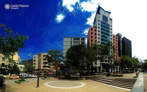 Colombia - Plaza  Bucaramanga, Santander