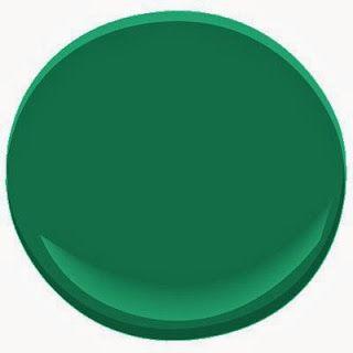 Lisa Mende Design: My Top 8 Favorite Emerald Green Paint Colors - Perfect Paints Portfolio
