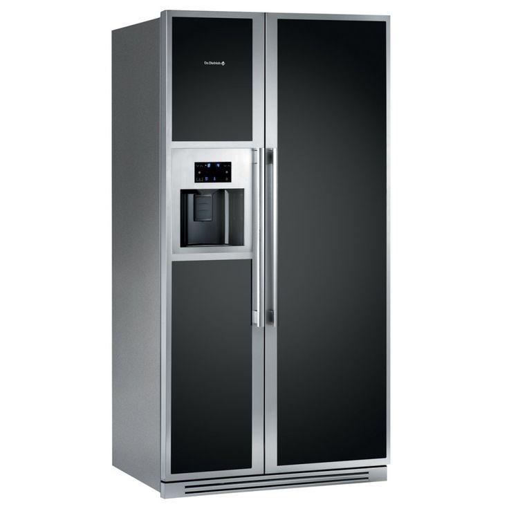 De Dietrich DKA866M - American Fridge Freezer Ice & Water | Appliance City