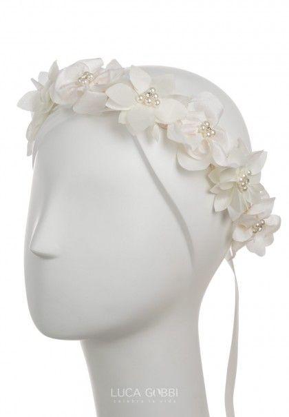 Accesorio de cabello para niña, Corona para ceremonia Modelo COR-Y02
