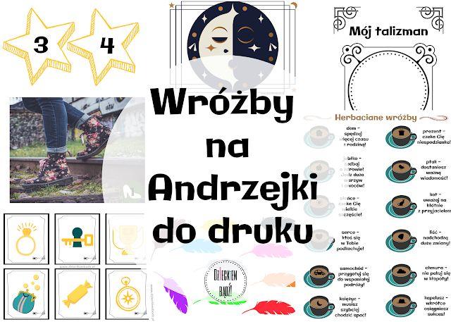 Dzieckiem Badz Wrozby Andrzejkowe Dla Dzieci Map Movie Posters