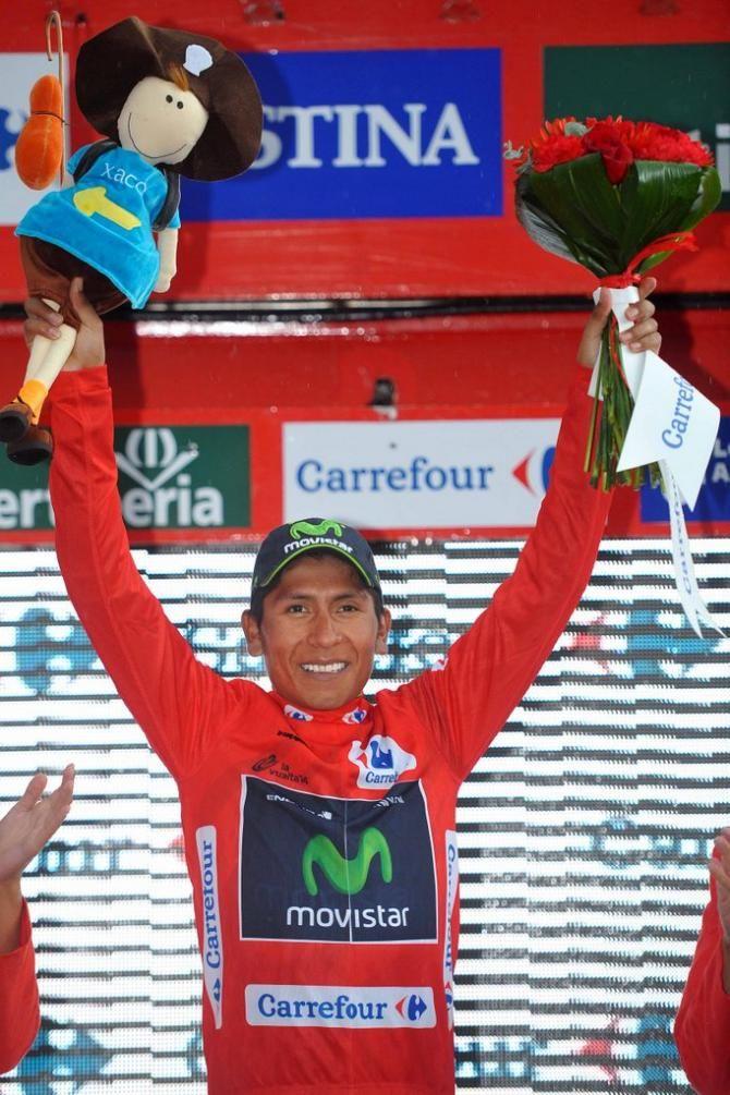 Vuelta a España 2014 - Stage 9: Carboneras de Guadazaón - Aramón Valdelinares 185km - Nairo Quintana (Movistar) is the first Colombian in 13 years to lead the Vuelta!