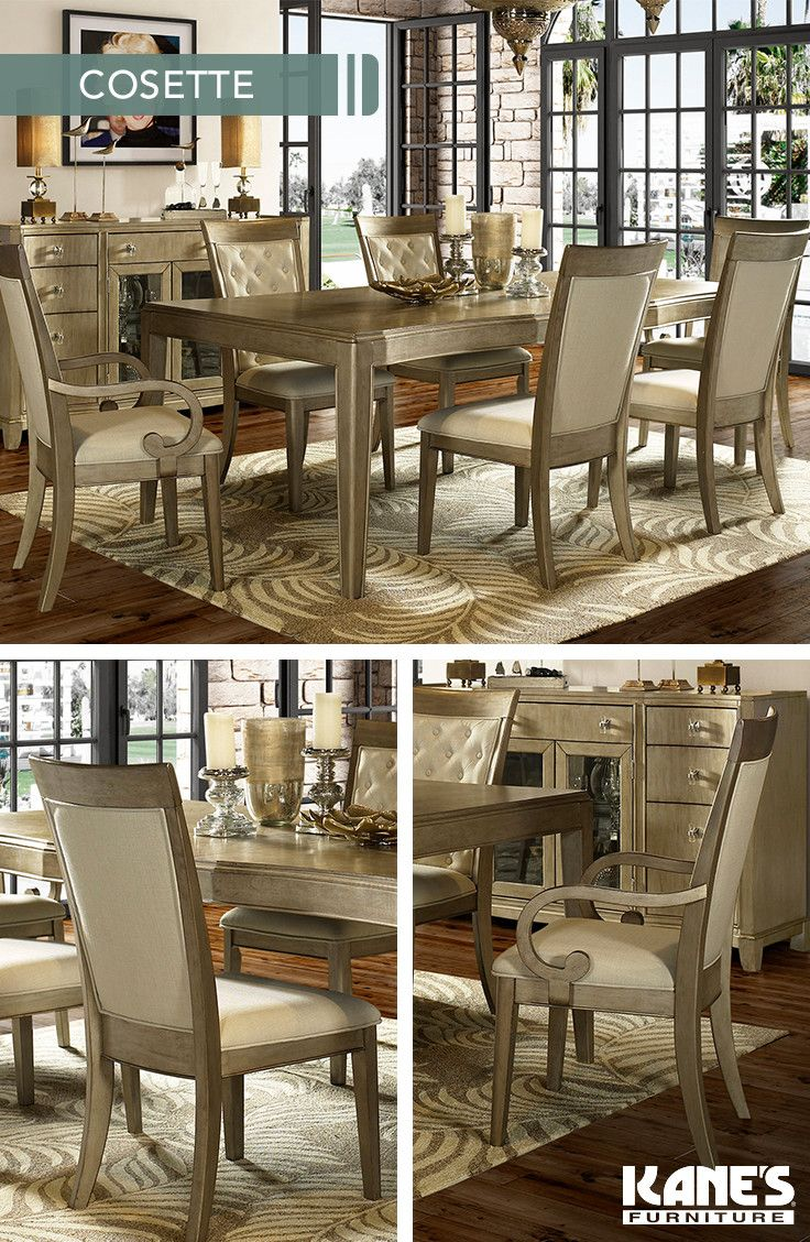 Cosette 5pc T 240 4x Sc 250 In 2018 Dining Rooms Room Sets