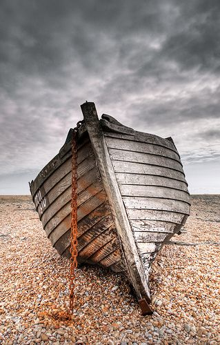 Boat at Dungeness by Marf Salvador, via Flickr
