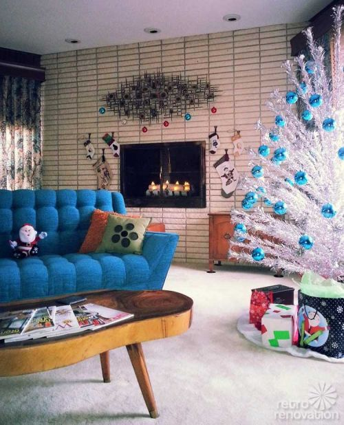 Silver Tinsel Christmas Tree With Color Wheel: 1000+ Images About CHRISTMAS Tinsel Trees On Pinterest