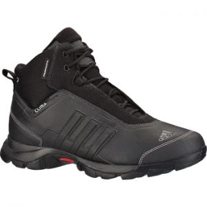 ADIDAS EISCOL WINTER BOOTS MENS  Cut higher for more stable support; this winter hiker has temperature sensitive outsole for grip on ice; PRIMALOFT(R) insulation; warm fur lining and all-over CLIMAPROOF(R) protection. #winterbootsmen