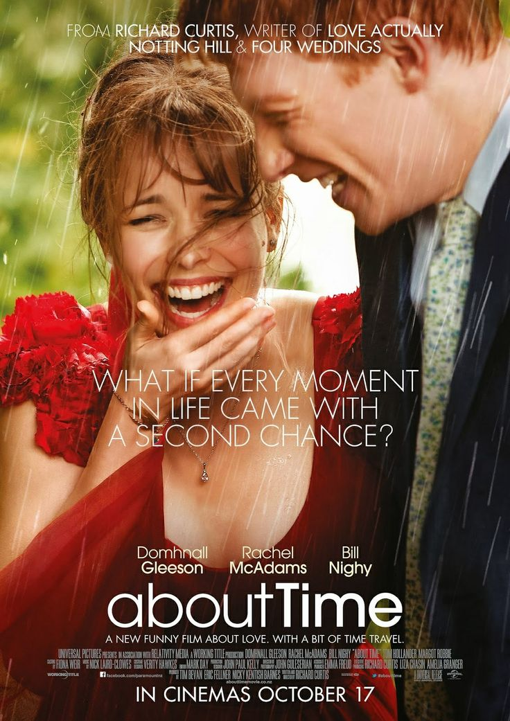 About Time - I really enjoyed this movie it has a great message and it was so touching.