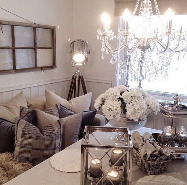 21 Fabulous Rustic Glam Living Room Decor Ideas: Пышная Fab Glam Blogazine: Главная Дизайн Вдохновение