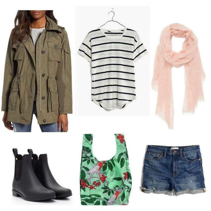 Spring showers: what to wear on a warm rainy day – college fashion