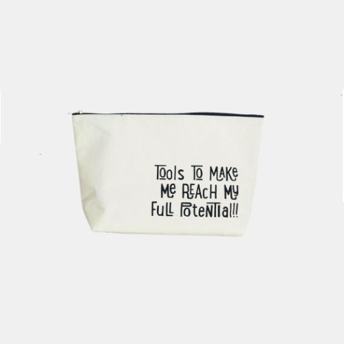 Housedoctor toilet bag, text