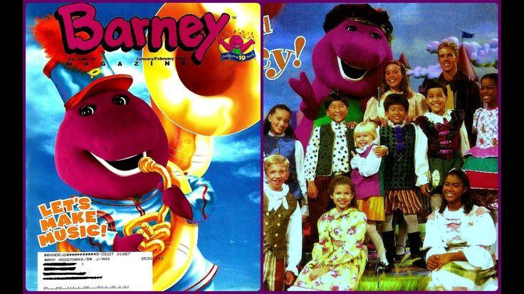 Classroom Ideas For January ~ Barney magazine let s make music january february