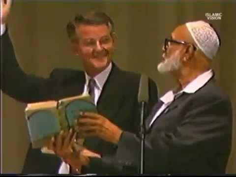 Debate Ahmed Deedat VS Pastor Stanley Sjoberg Is Bible God's Word FULL - YouTube