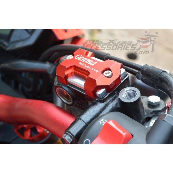Honda MSX125 Grom Brake Fluid Reservoir Cover #hondagrom #msx125 #hondamsx125 #honda