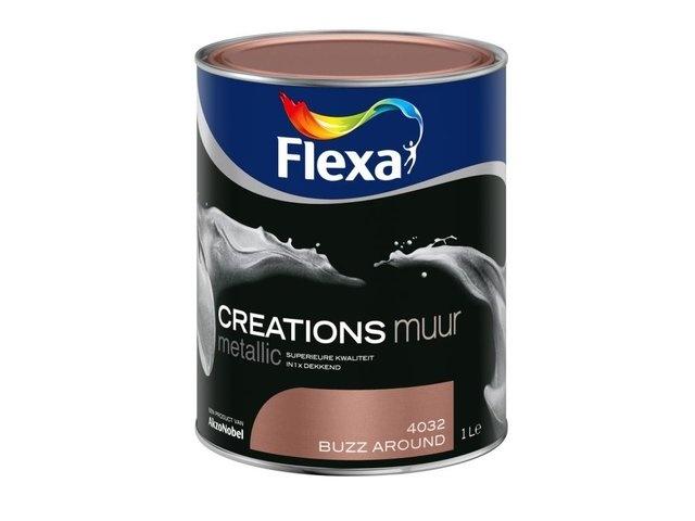 Flexa Creations muurverf metallic buzz around 4032 1 ltr