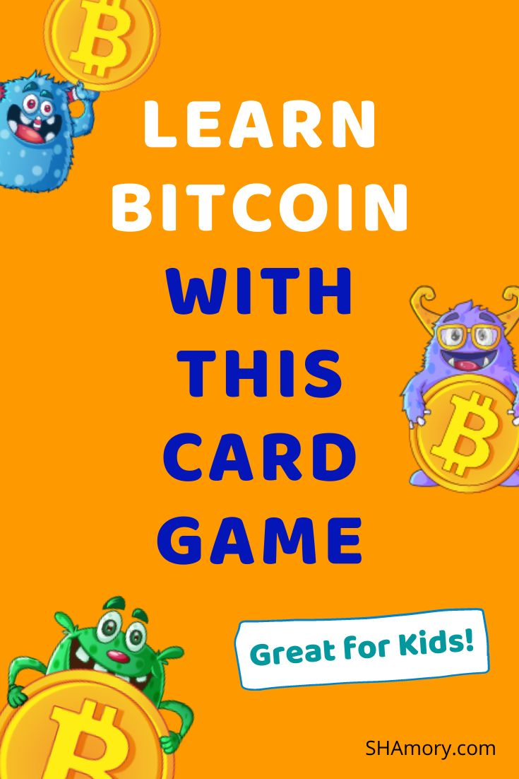 Learn bitcoin with this card game card games for kids