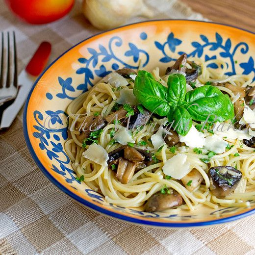 Pasta with Mushrooms from The Midnight Baker | Go-To Recipes ...
