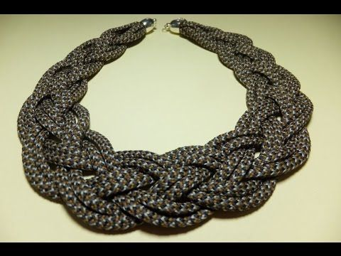 Collar con cordones de zapatillas. - YouTube