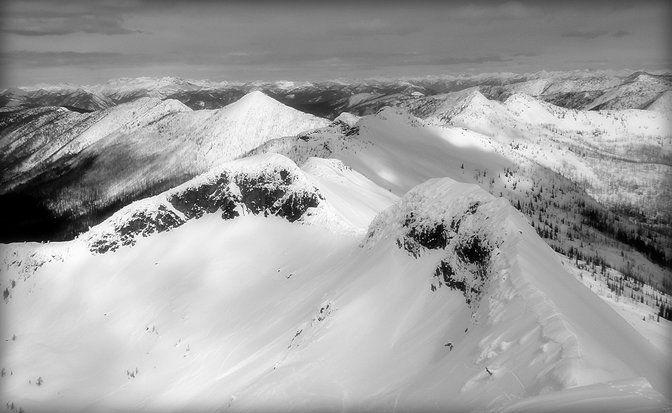 Ymir Peak, Whitewater Ski Resort Nelson BC, © LG Living Photography