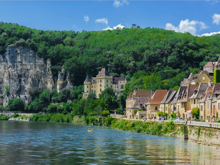 4. The Dordogne region of France is a paradise for food lovers who will come across everything from truffles and foie gras to walnuts, plums, and some of the best goose-liver pâte around. For a culinary treat, wander through the many outdoor food markets and bistros that line its breathtaking villages.