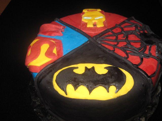 My Superhero cake