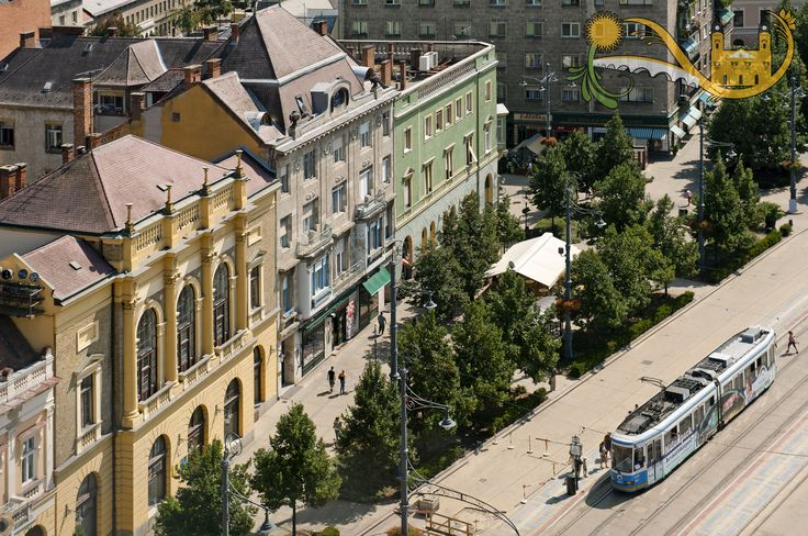 Debrecen bird's view