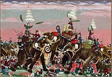 Thailand...Siamese King Naresuan fighting the Burmese crown prince Mingyi Swa at the battle of Yuthahatthi in Jan. 1593