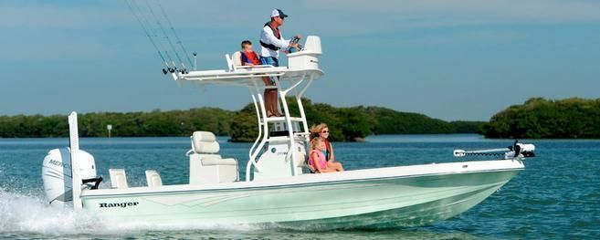 2016 Ranger Boats 2510 Bay Ranger -  Ranger Boats has added a new bay boat to it's Saltwater Series, the 2510 Bay Ranger. Underwater-Lights USA