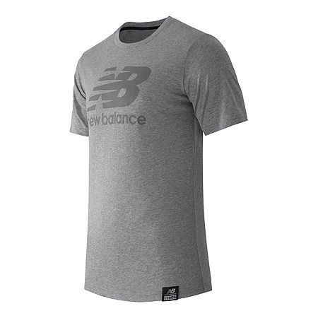 """New Balance Essentials Plus SS Logo Tee - Men's"""