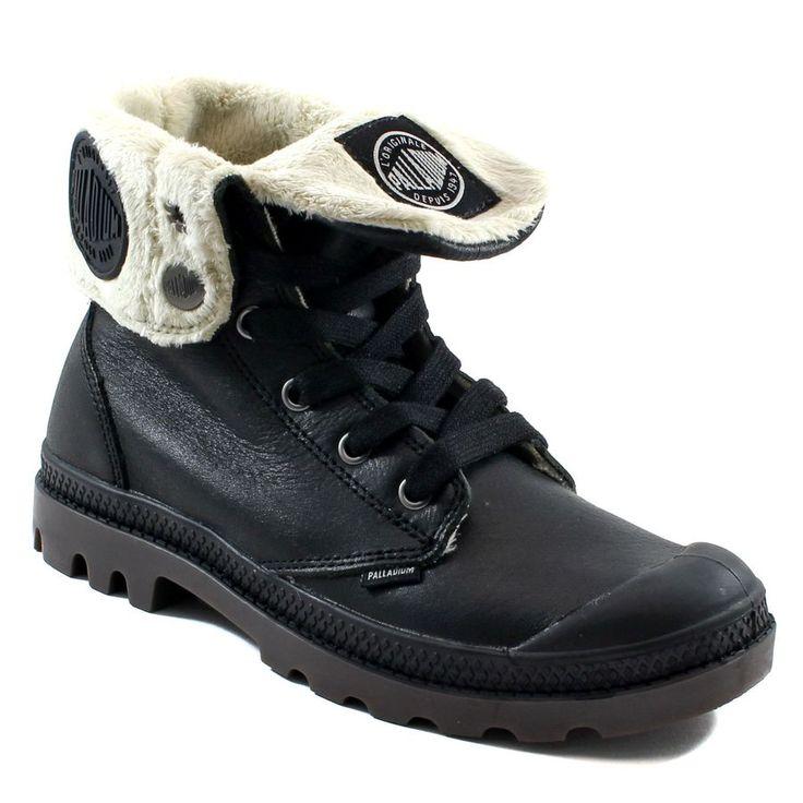 405A PALLADIUM BAGGY LEATHER FS F NOIR www.ouistiti.shoes le spécialiste internet  #chaussures #bébé, #enfant, #fille, #garcon, #junior et #femme collection automne hiver 2016 2017