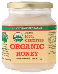 YS Royal Jelly/Honey Bee            Certified Organic Raw Honey, 32.0 Fluid Ounces , Honey #vitaminshoppecontest