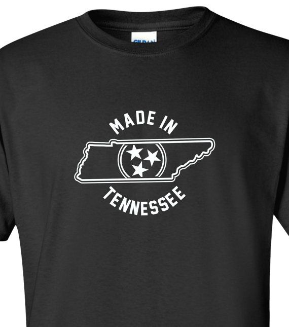 New Made In Tennessee T-Shirt Choose From Over by spacelabshirts