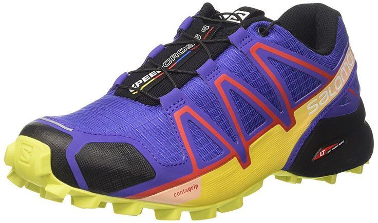 Salomon Women's Speedcross 4 Trail Running Shoe, Purple (Spectrum Blue/Sulphur Spring/Fiery), 4 UK (36 2/3 EU): Amazon.co.uk: Shoes & Bags