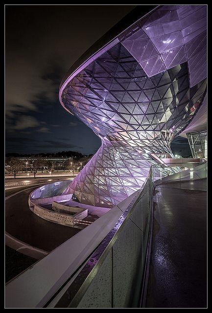 ☮ Unique Modern Architecture BMW Welt 8.0 by _ThirdEye_, via Flickr #architecture ☮k☮