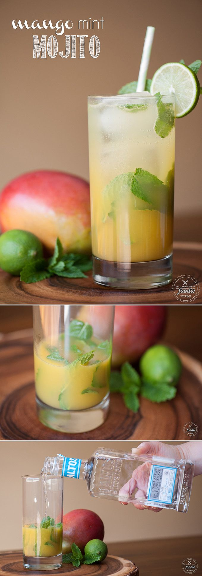 ... about Mango Mojito on Pinterest | Mojito, Mojito Recipe and Mango