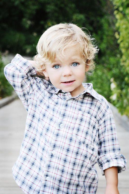 Little Cutie With Big Blue Eyes Little Boy Haircuts
