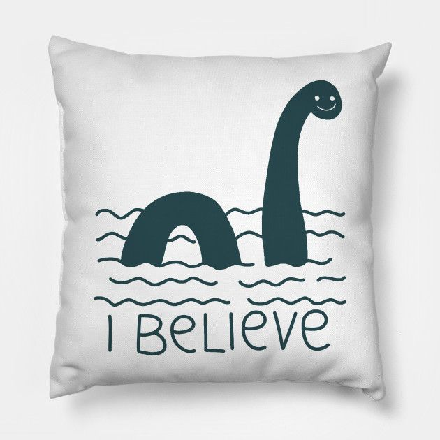 Loch Ness Monster Loch Ness Monster Pillow Teepublic