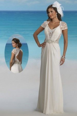 61 best KissDress-Beach Wedding Dresses images on Pinterest   Short ...