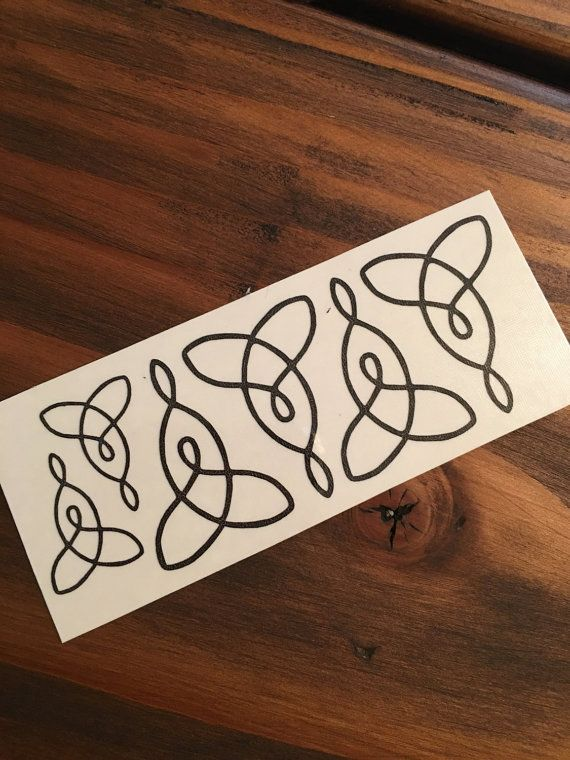 Mother Daughter Celtic Knot / Temporary Tattoo/ Celtic Tattoo/Celtic knot Tattoo/Mother Daughter Tattoo / Tribal Tattoo