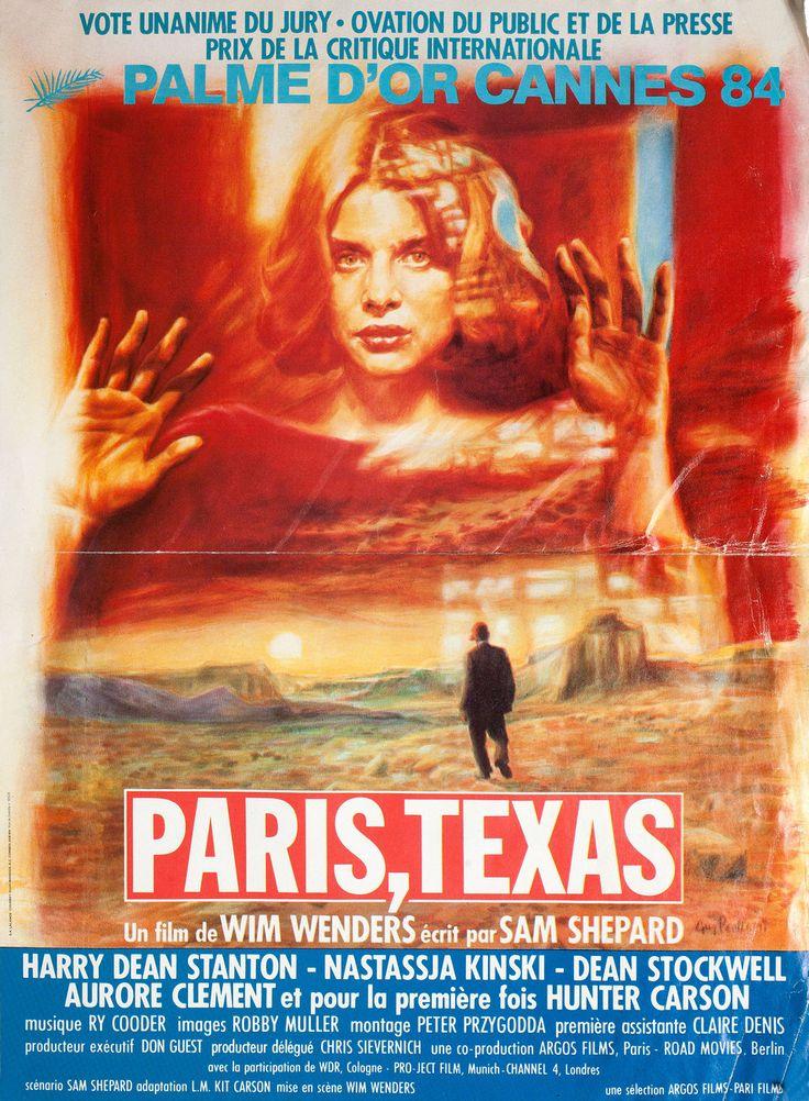 Paris, Texas 1984 French Petite Poster