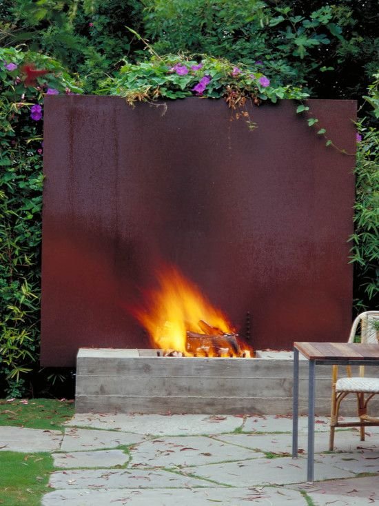 Spaces Landscaping Around A Fire Pit Design, Pictures, Remodel, Decor and Ideas - page 24