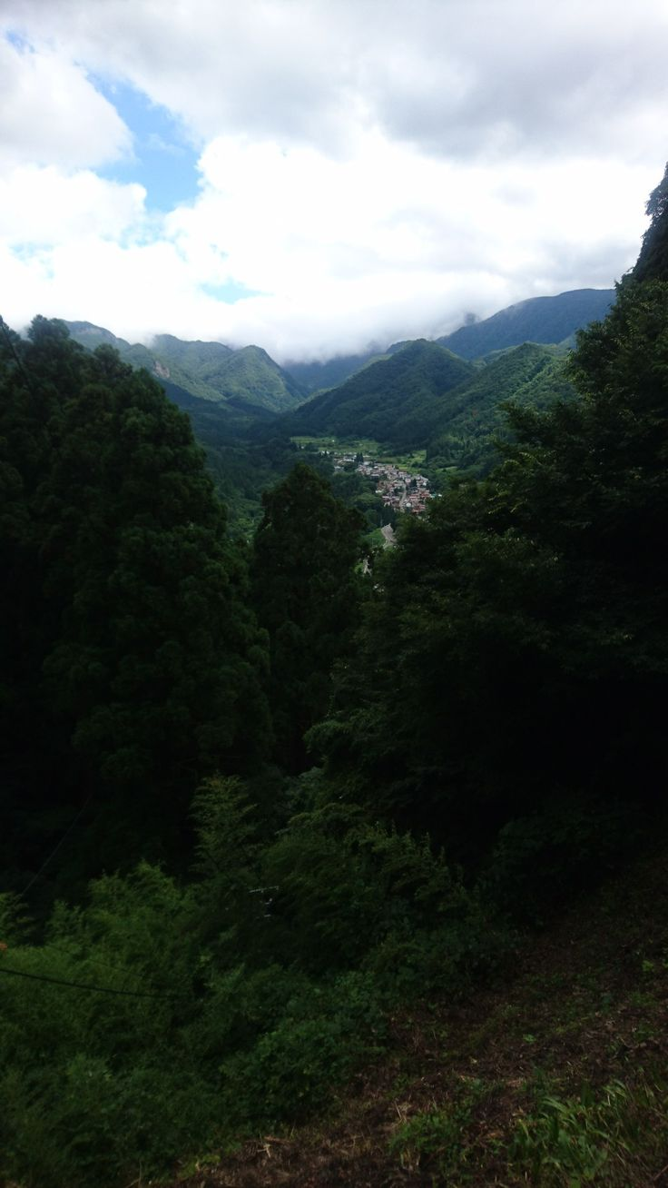 山寺からの景色、山形県 / view from Yamadera in Yamagata Prefecture, Japan