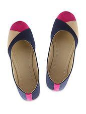 multi color JEANS REXINE  BALLERINAS - Online Shopping for ballerina