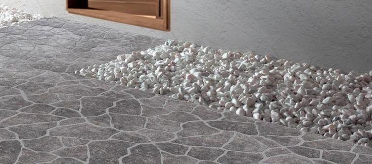 Lage Cinza 12x12 Irregular Shaped Porcelain #gresart