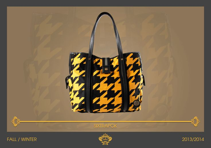 Do you need a big and bright bag? SIXTRAPOK is the perfect one for you! Roomy and functional, with a pop look. Distinctive trait of this bag are the leather handles: you can put your jacket between them without loose it! #Orobianco #mensfashion F/W 2013/2014