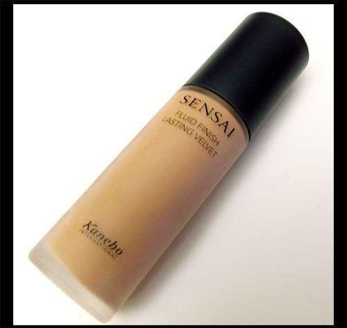 Kanebo Sensai Fluid Finish Lasting Velvet Foundation Review and Swatches on http://makeupforlife.net