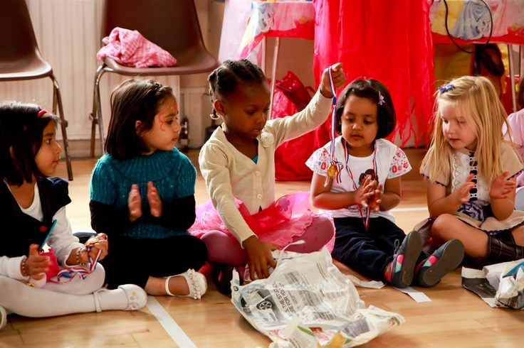 Pass the parcel - All Time Favourite Children's Birthday Party Game